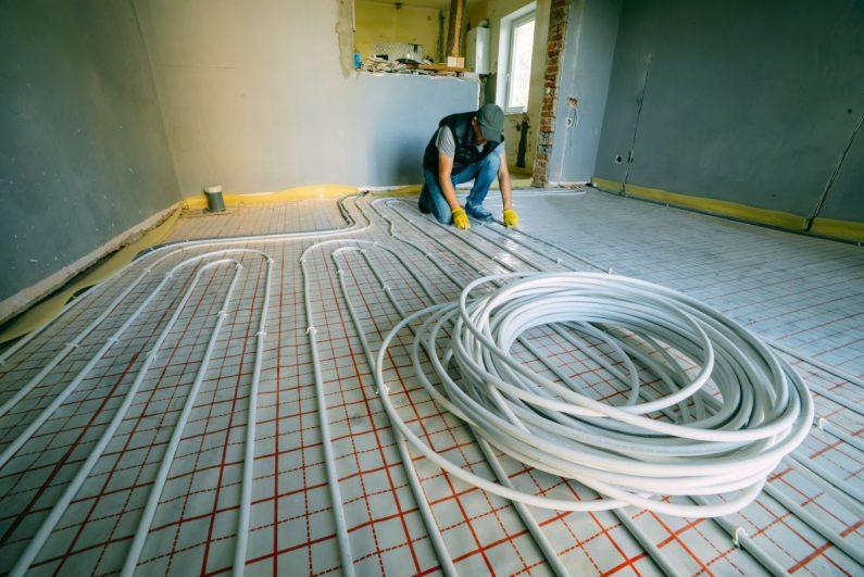 Instalacje podłogowe zalety