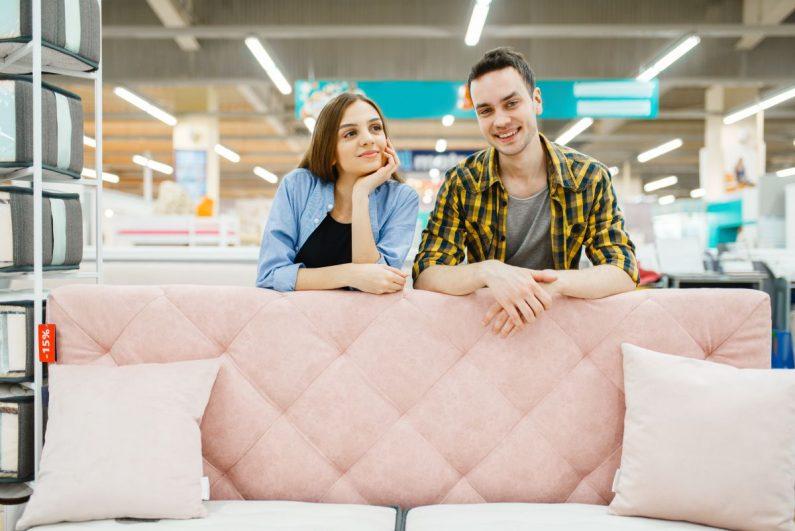 Nowoczesne sklepy meblowe w Warszawie
