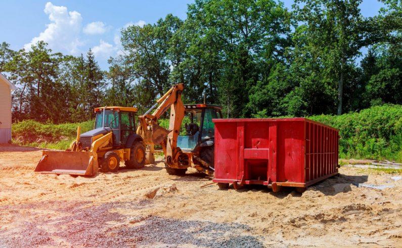 Pojemne kontenery na odpady budowlane we Wrocławiu